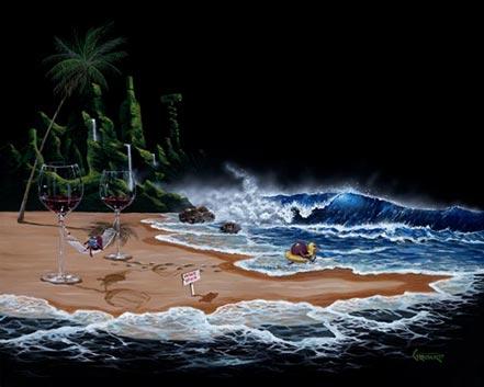 michael godard paradise