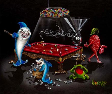 michael godard pool shark iii