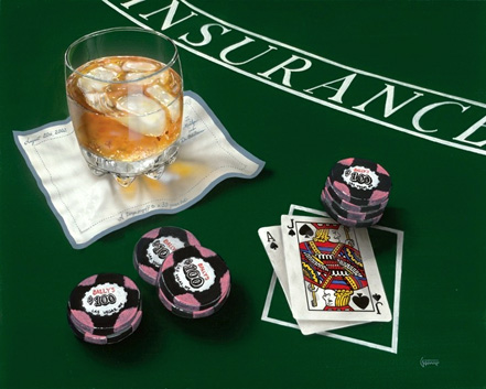 michael godard scotch and blackjack