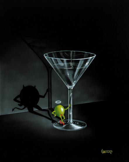 michael godard she devil martini