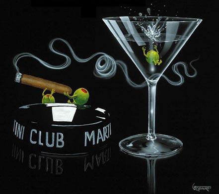 michael godard smoke off at the club