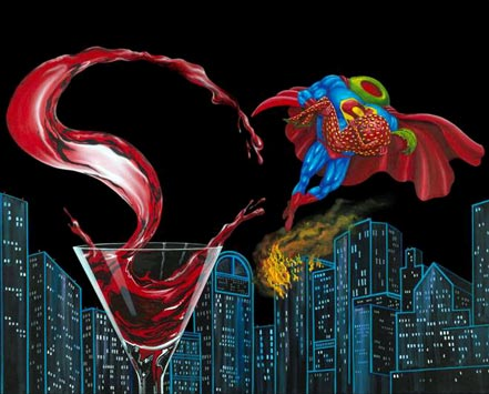 michael godard supertini