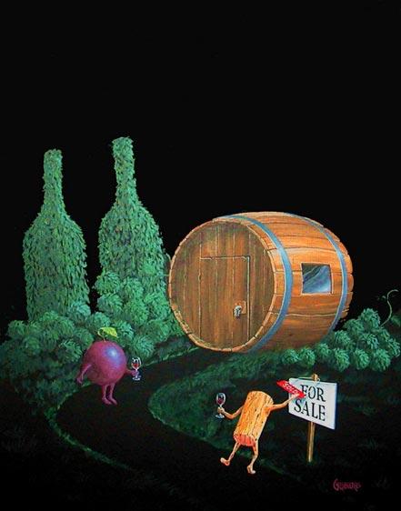 michael godard wine cellar