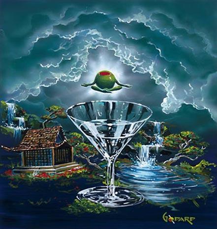 michael godard zen martini ii