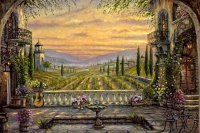 robert finale a tuscan view