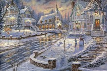 robert finale christmas snow