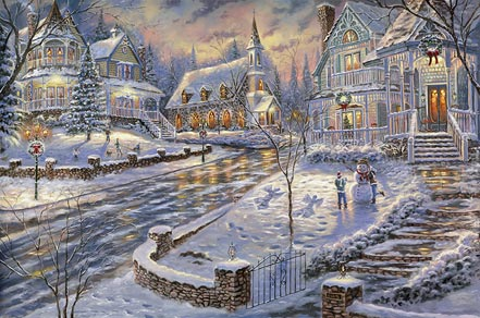 robert finale christmas snow
