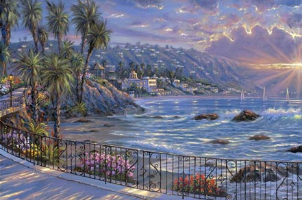 robert finale laguna beach sunrise