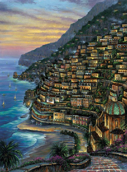 robert finale lights on positano