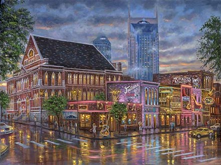 robert finale nashville painting the town