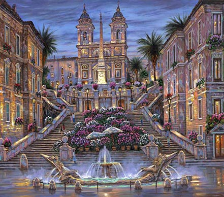 robert finale the spanish steps