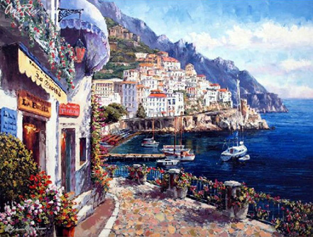 sam park amalfi afternoon