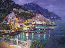 sam park amalfi lights