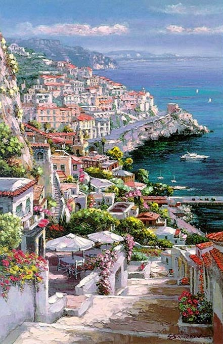sam park amalfi treasure