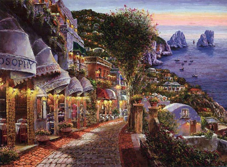sam park evening in capri