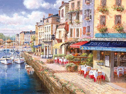 sam park harbor at honfleur