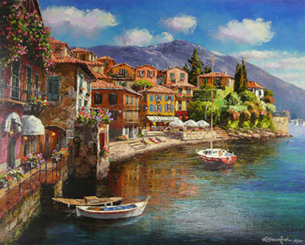 sam park harbor at varenna