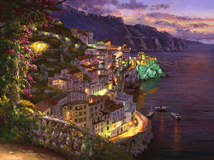 sam park lights of amalfi
