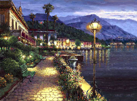 sam park lights of bellagio