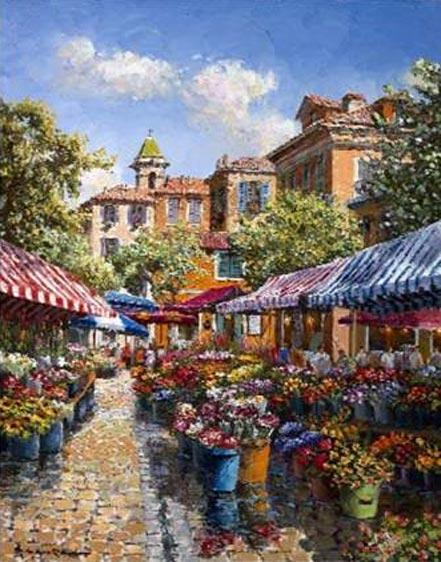 sam park nice flower market