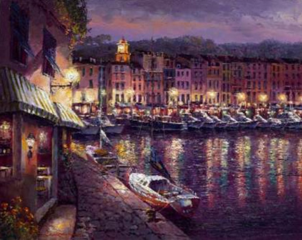 sam park night view of st tropez