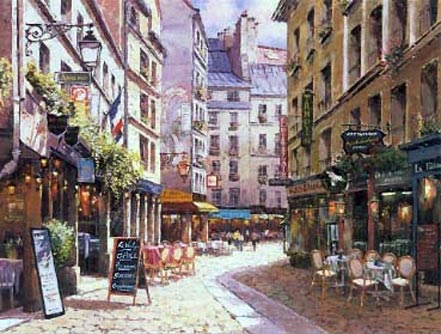 sam park parisian cafe
