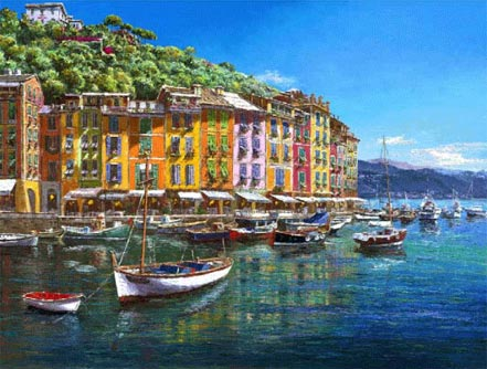 sam park view of portofino