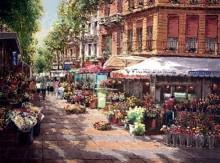 sam park barcelona flower market
