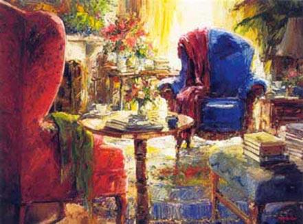 stephen shortridge blue chair