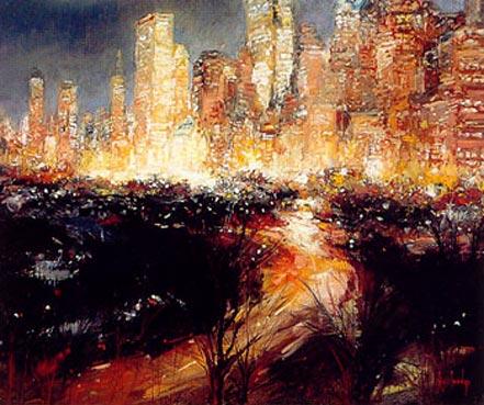 stephen shortridge city lights nyc