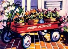 steve barton red wagon