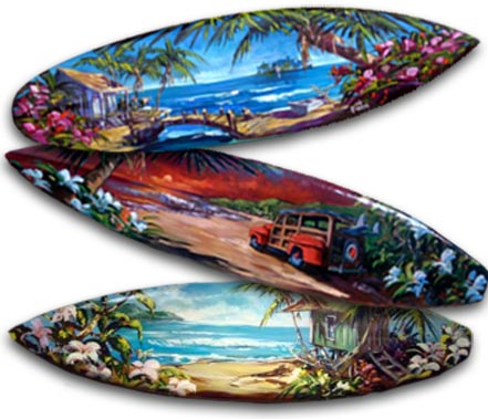 steve barton surfboard originals