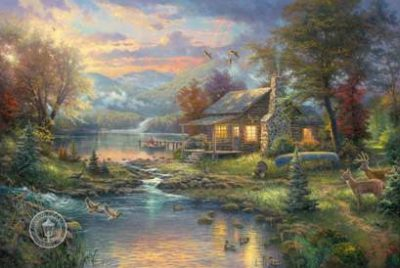 Natures Paradise by Thomas Kinkade