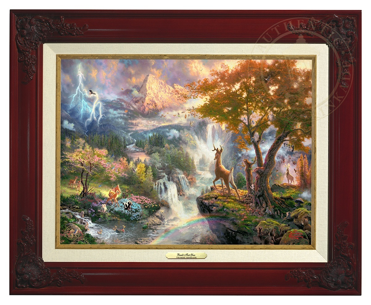 Bambi's First Year - Canvas Classic (Brandy Frame)