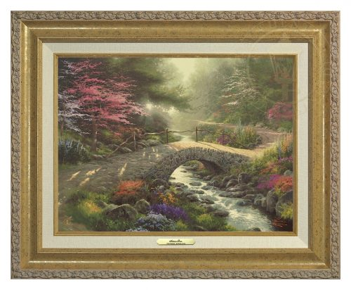Bridge of Faith - Canvas Classic (Gold Frame)