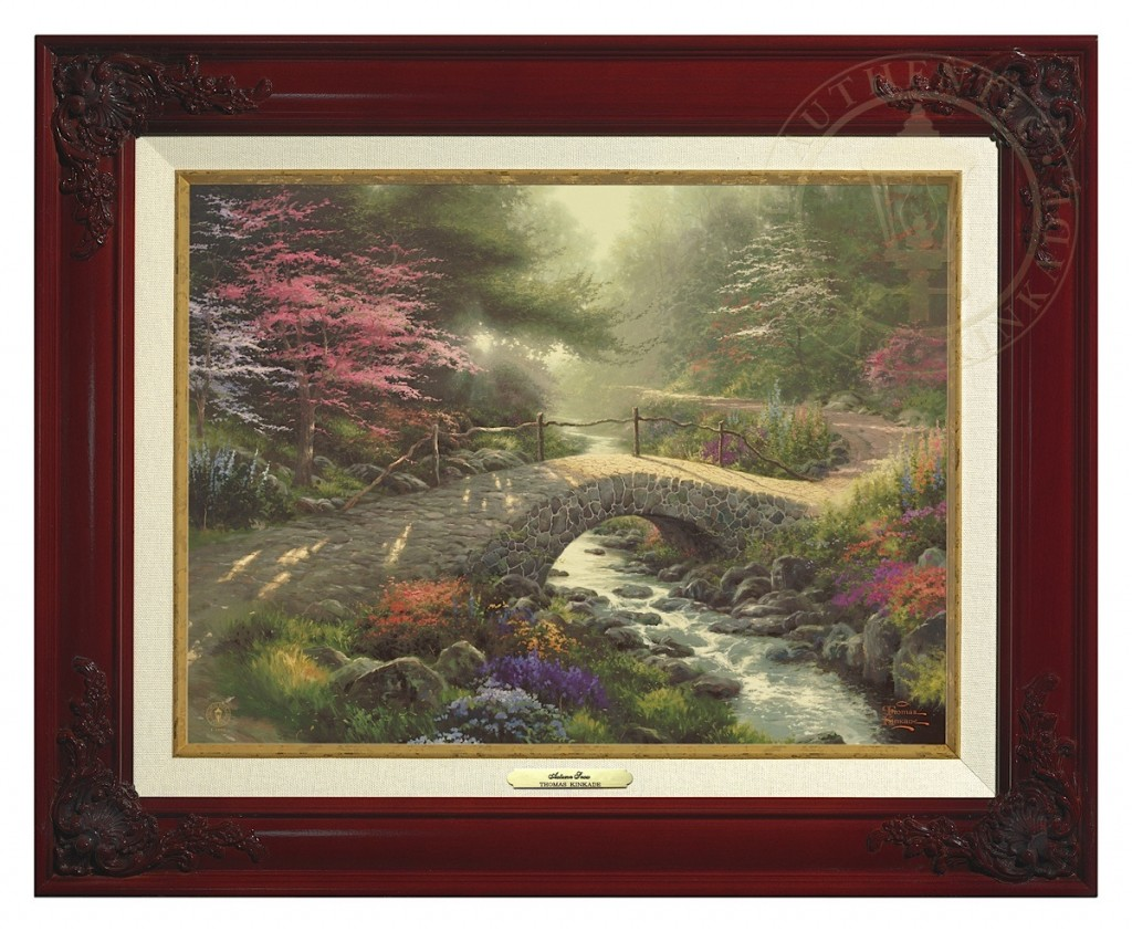 Bridge of Faith - Canvas Classic (Brandy Frame)