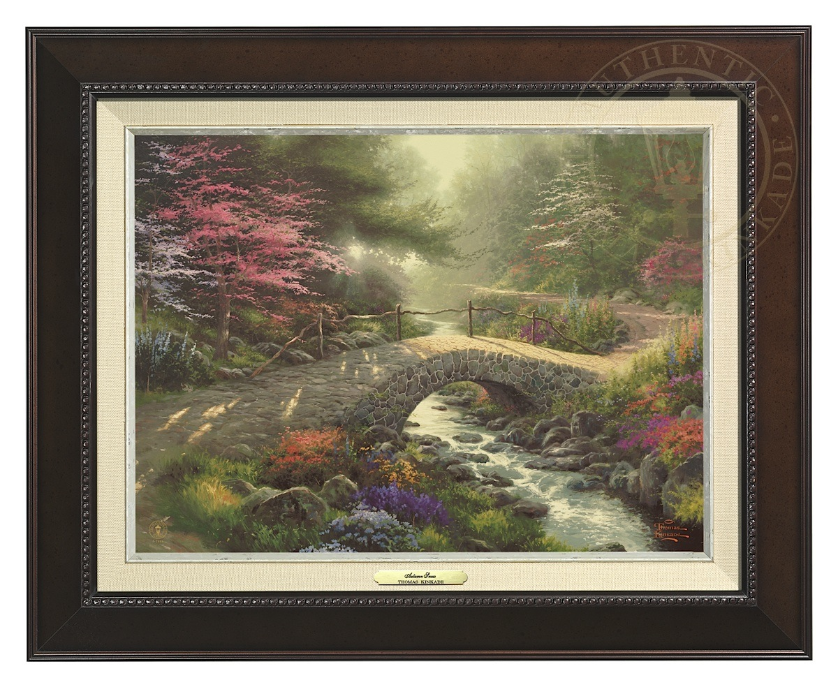 Bridge of Faith - Canvas Classic (Espresso Frame)