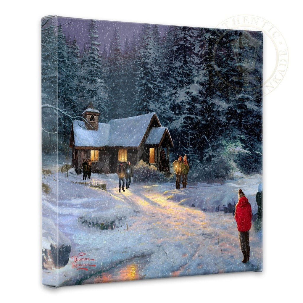 "Christmas Miracle - 14"" x 14"" Gallery Wrapped Canvas"