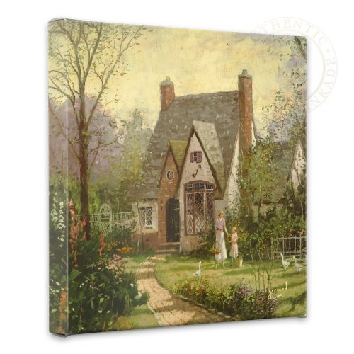 "Cottage, The - 14"" x 14"" Gallery Wrapped Canvas"