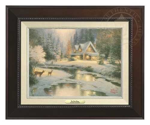 Deer Creek Cottage - Canvas Classic (Espresso Frame)