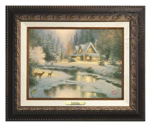 Deer Creek Cottage - Canvas Classic (Aged Bronze Frame)