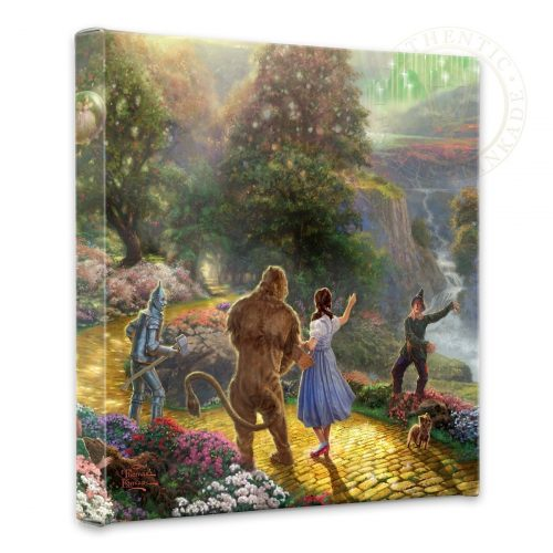 "Dorothy Discovers the Emerald City - 14"" x 14"" Gallery Wrapped Canvas"