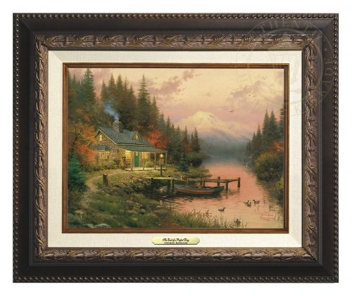 End of a Perfect Day, The - Canvas Classic (Aged Bronze Frame)