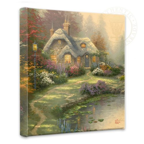 "Everett's Cottage - 14"" x 14"" Gallery Wrapped Canvas"