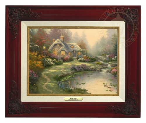 Everett's Cottage - Canvas Classic (Brandy Frame)