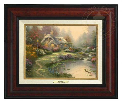 Everett's Cottage - Canvas Classic (Burl Frame)