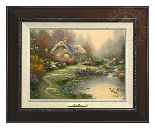 Everett's Cottage - Canvas Classic (Espresso Frame)
