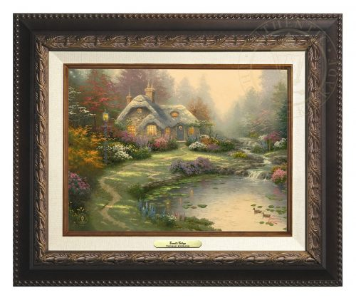 Everett's Cottage - Canvas Classic (Aged Bronze Frame)