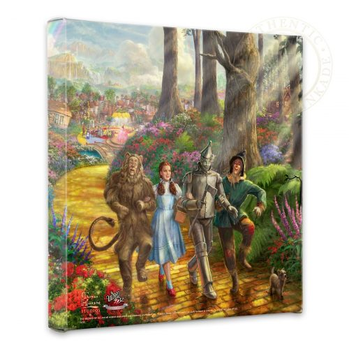 "Follow The YELLOW BRICK ROAD - 14"" x 14"" Gallery Wrapped Canvas"