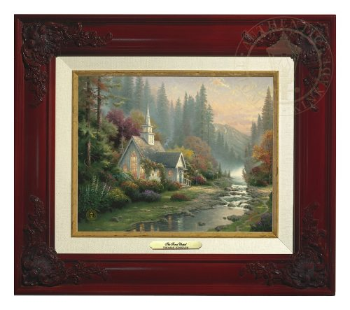 Forest Chapel, The - Canvas Classic (Brandy Frame)